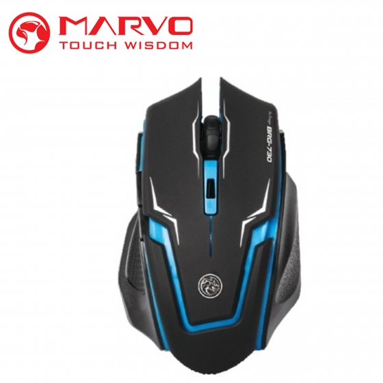 Մկնիկ Marvo BRG-730 (USB, Black, Gaming)