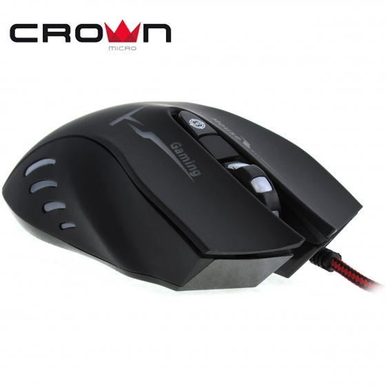 Մկնիկ CrownMicro CMXG-615 (USB, Black, Gaming)