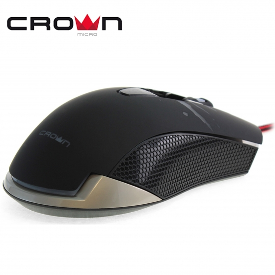 Մկնիկ CrownMicro CMXG-614 (USB, Black, Gaming)
