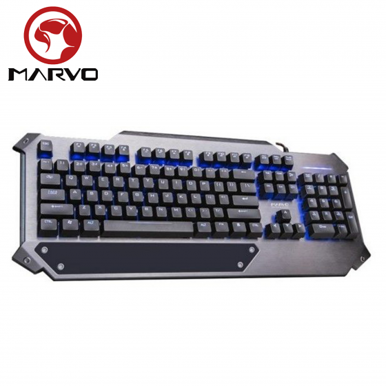 Ստեղնաշար Marvo K945 (USB, Black, Mechanical, LED Backlight, Multimedia)