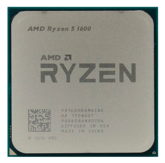 Процессор AMD Ryzen 5 1600 AM4 Box| YD1600BBAFBOX