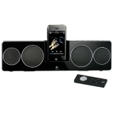 Speakers Logitech Pure-Fi Anywhere 2 for iPhone/iPod (remote control panel)