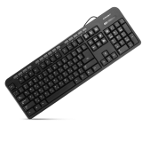 Keyboard CrownMicro CMK-300, Multimedia (Black, USB)