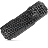 Keyboard CrownMicro CMK-314, Multimedia (Black, USB)