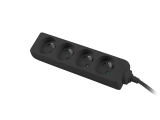 Ցանցային զտիչ LANBERG PS0-04E-0150-BK (4 SOCKETS 1.5M FRENCH, BLACK)