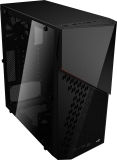 Case MidiTower Aerocool CYBERX ADVANCE w/o black (MidiATX)