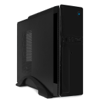 Корпус Desktop CrownMicro CM-1907-1 black (ITX, 300W)