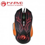 Մկնիկ Marvo G-920 BK, Backlight, Gaming (USB)