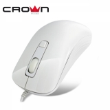 Мышь CrownMicro CMM-20 (4button, 1600dpi, White, USB)