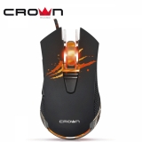 Մկնիկ CrownMicro CMXG-614, Gaming (Double click button, 2400dpi, Backlight, USB)