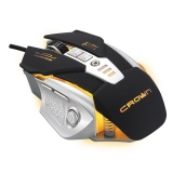 Мышь CrownMicro CMG-01 Robotic, Gaming (8 buttons, 3200dpi, Backlight, USB)