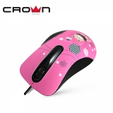 Мышь CrownMicro CMM-30 (3button, 1000dpi, Bear, USB)