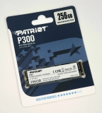 Накопитель SSD M.2 256GB Patriot P300P256GM28 P300 (M.2 2280 PCI-E, Reading 1700 MB/s, Writing 1100 Mb/s)
