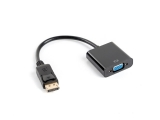 Ադապտեր LANBERG AD-0002-BK DISPLAYPORT 1.1->VGA ON CABLE BLACK