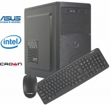 PC LED Office Expert I5-82401-D (I5, 8GB RAM, 240GB SSD, 1TB HDD, DVD-RW)