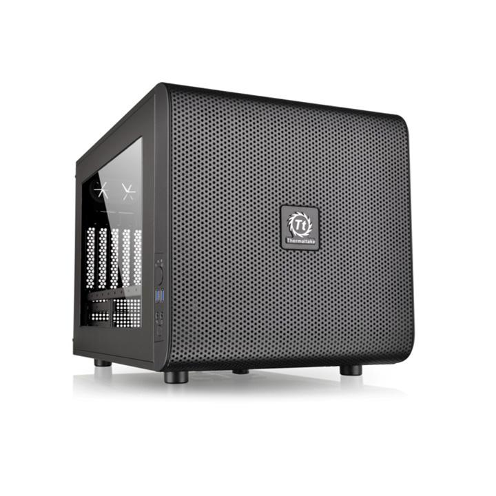 Корпус Thermaltake Core V21 черный без БП mATX 11x120mm 7x140mm 1x200mm 2xUSB3.0 audio bott PSU| CA-1D5-00S-1WN