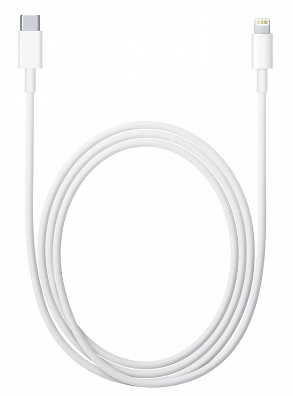 Кабель Apple MKQ42ZM/A Lightning USB Type-C 2м белый| MKQ42ZM/A