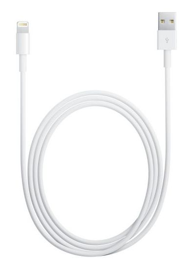 Кабель Apple MD819ZM/A Lightning USB A(m) 2м белый| MD819ZM/A